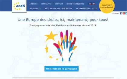 L'Europe des droits: ici, maintenant, pour tous!