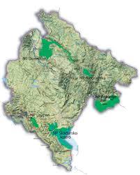 Mapa Letzebuerg Crna Gora Association Luxembourg Montenegro