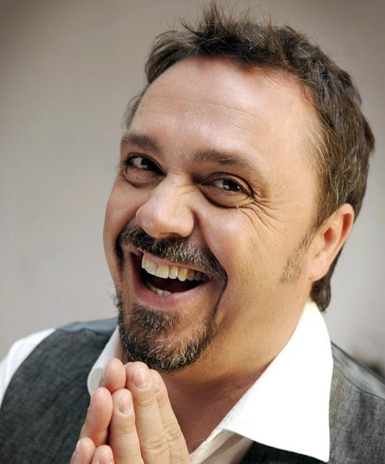 Cabarétiste Gabriele Cirilli