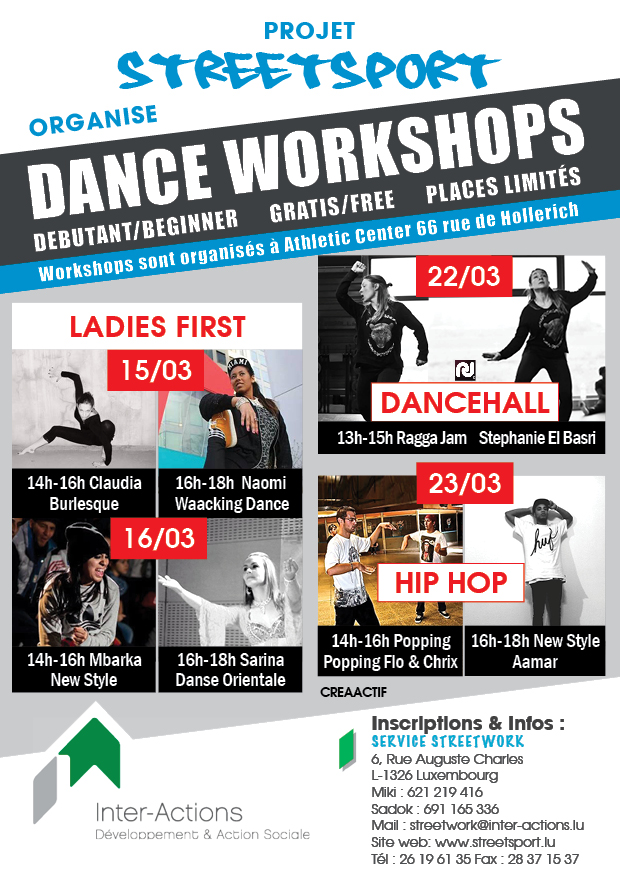 Dance Workshop Ladies First