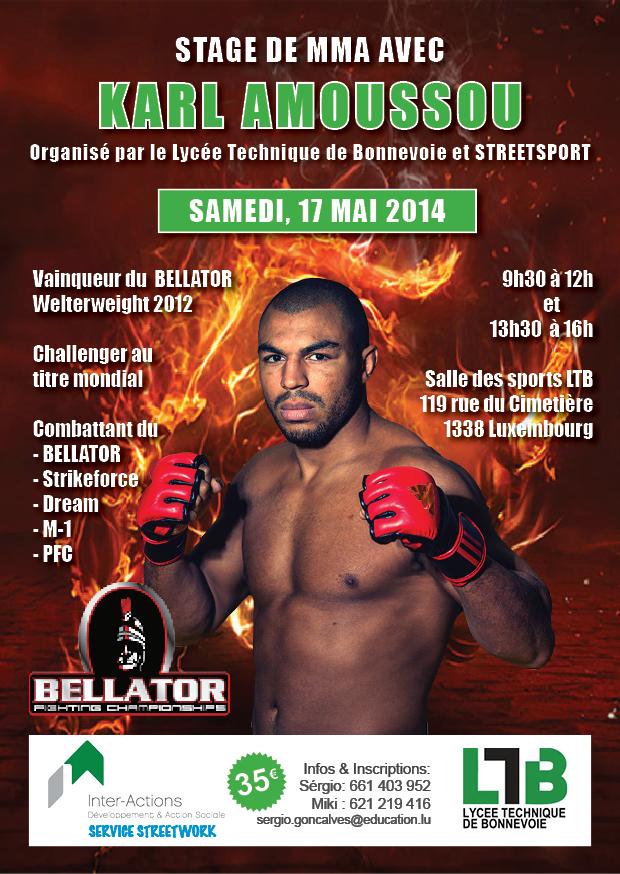 Stage de MMA avec Karl Amoussou