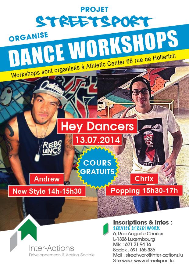 Dance Workshops - Hey Dancers