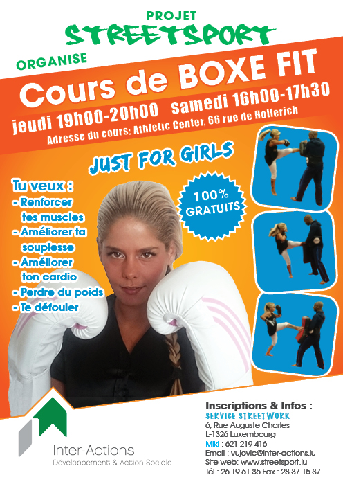 Cours de Boxe Fit Girls