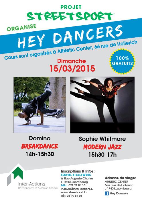 Hey Dancers - Breakdance, Modern Jazz