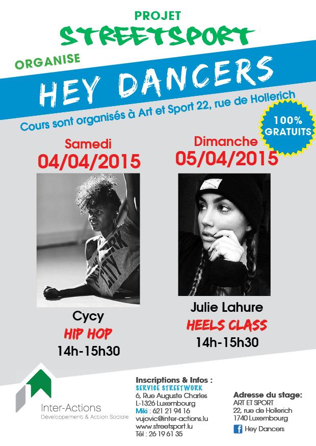 Hey Dancers - Hip Hop, Heels Class