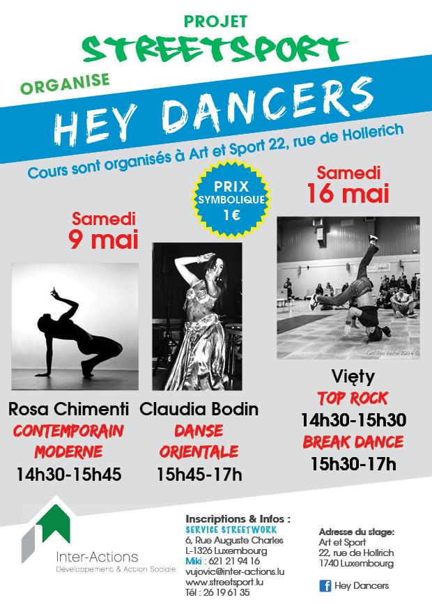 Hey Dancers - Contemporain Moderne, Danse Orientale, Top Rock, Break Dance