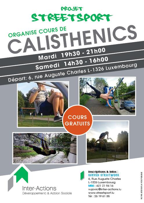 Cours de Calistenics