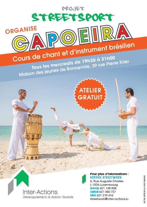 Cours de capoeira chant et d'instruments brésilien