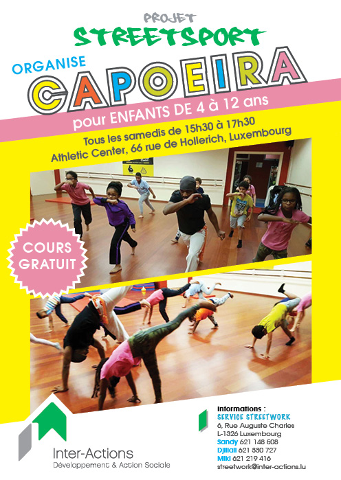 Cours de Capoeira for kids